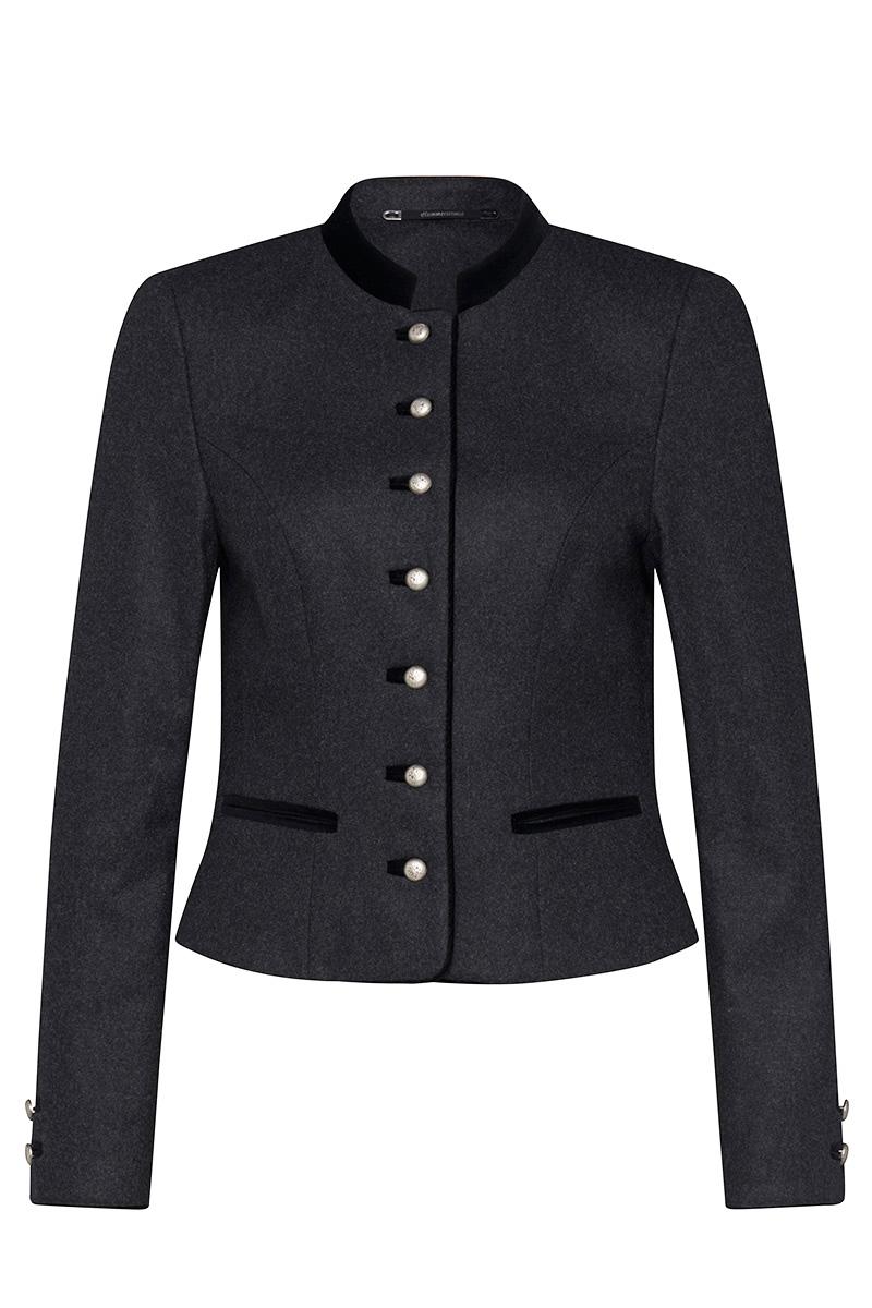 Women trachten jacket grey with strass Fabienne   shop